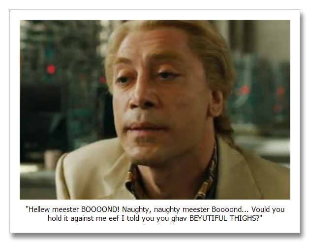 Movie Review: Skyfall - Them's Fightin' Words Them's Fightin' Words