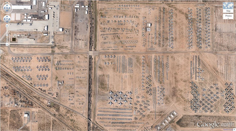 The 14 Most Amazing Aerial Images Caught By Google Maps