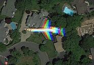 rainbow-plane